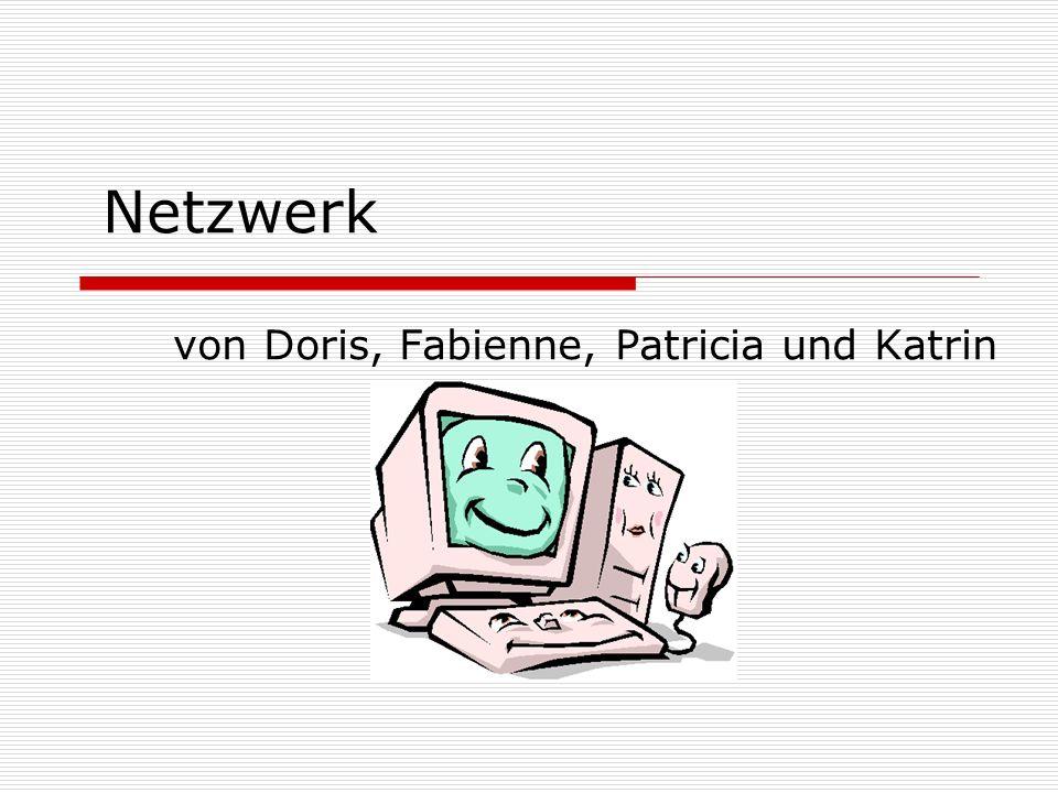 Netzwerk von Doris, Fabienne, Patricia und Katrin