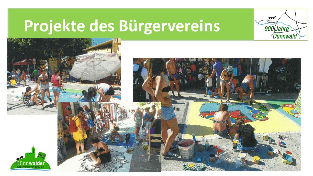 Projekte des Bürgervereins 900 Jahre Dünnwald I11