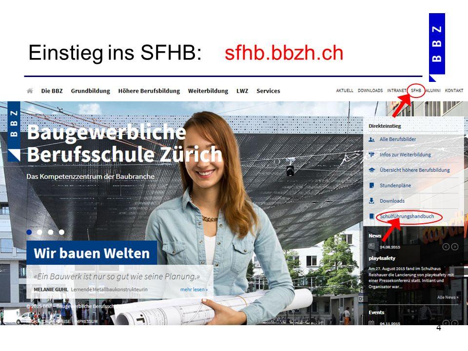 Struktur und Aufbau des SFHB's 5 0 Rahmenbedingungen der Schulführung