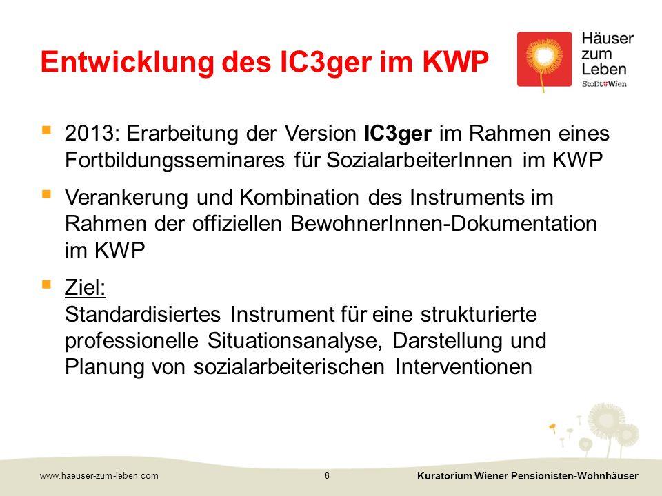 www.haeuser-zum-leben.com Kuratorium Wiener Pensionisten-Wohnhäuser 9