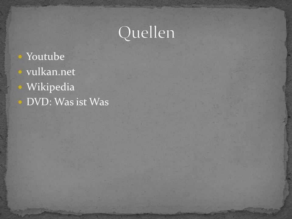 Youtube vulkan.net Wikipedia DVD: Was ist Was