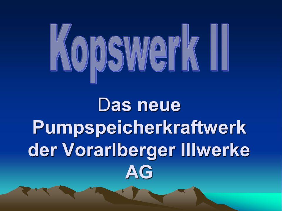 Vorarlberger Illwerke AG wurden 1924 als GmbH gegründet seit 1927 eine Aktiengesellschaft zehn Kraftwerke, vier Speicherseen Stromerzeugung: Montafon und Walgau.