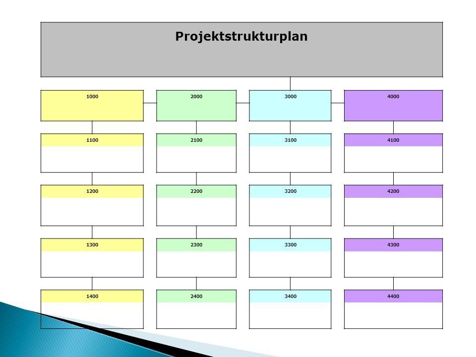 Projektstrukturplan 1000200030004000 1100210031004100 1200220032004200 1300230033004300 1400240034004400