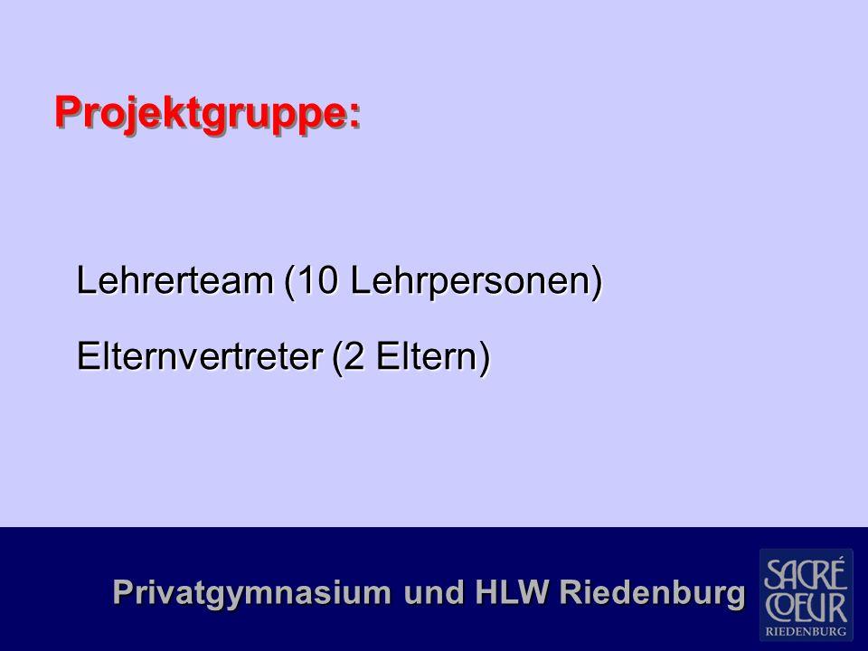Privatgymnasium und HLW Riedenburg Danke.