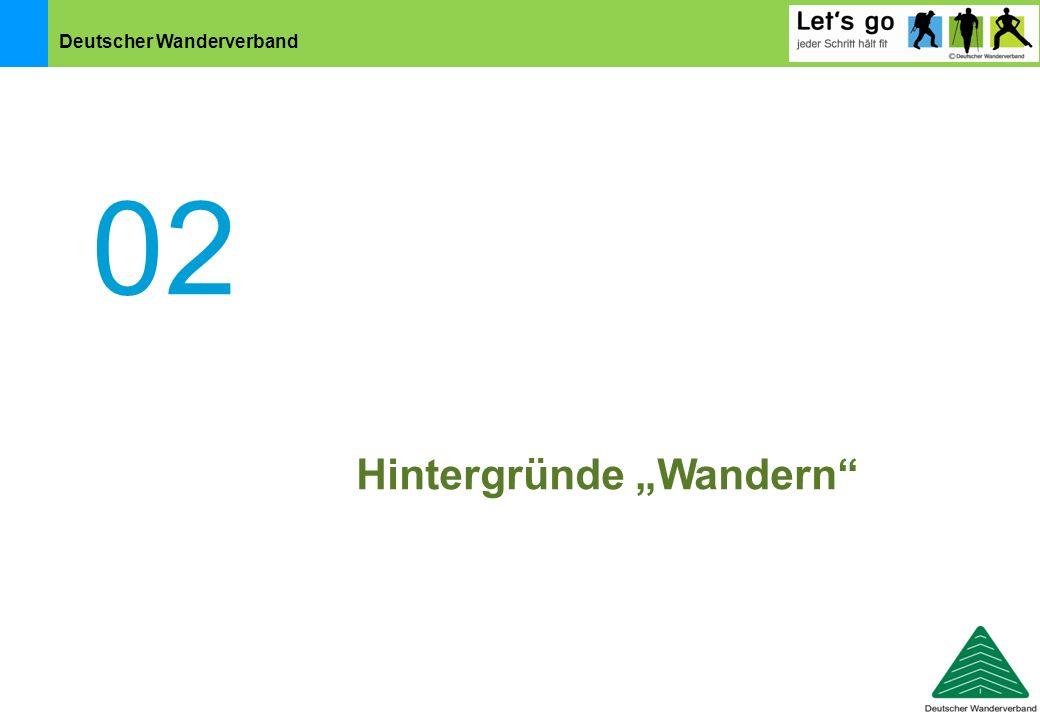 """Deutscher Wanderverband 02 Hintergründe """"Wandern"""""""