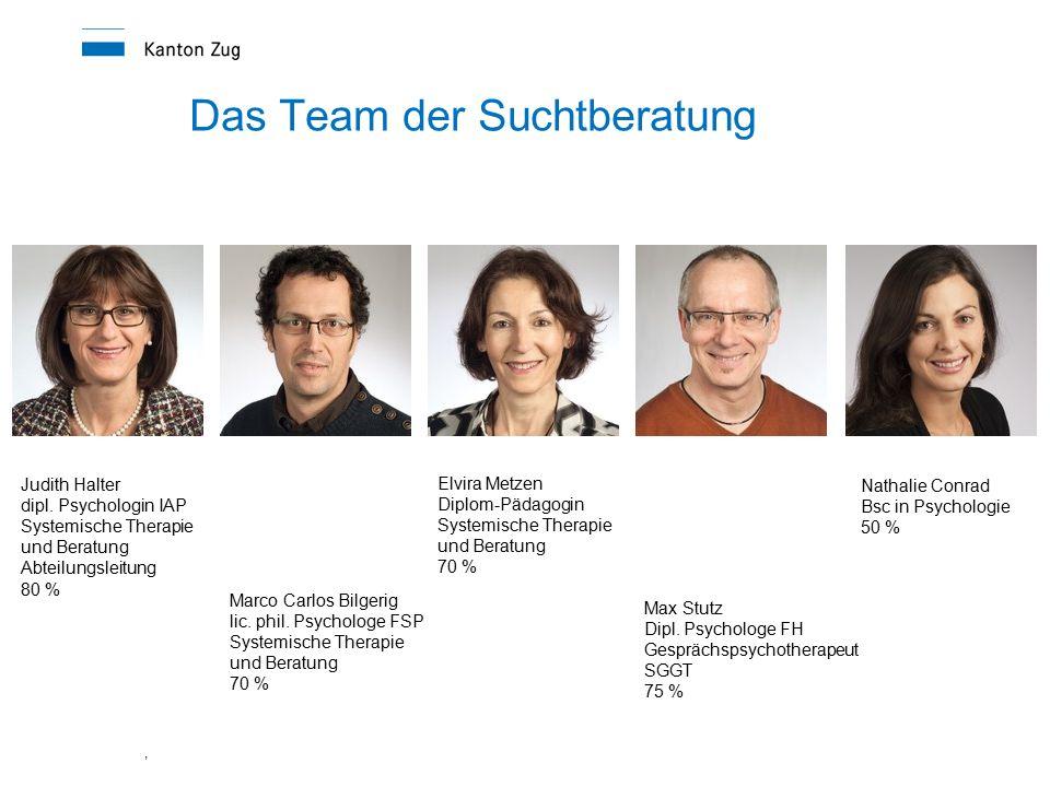 , Das Team der Suchtberatung Judith Halter dipl.