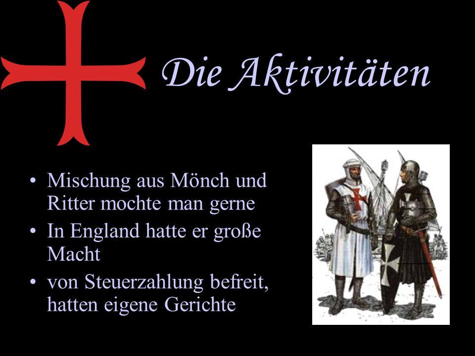 Die Aktivitäten Mischung aus Mönch und Ritter mochte man gerne In England hatte er große Macht von Steuerzahlung befreit, hatten eigene Gerichte