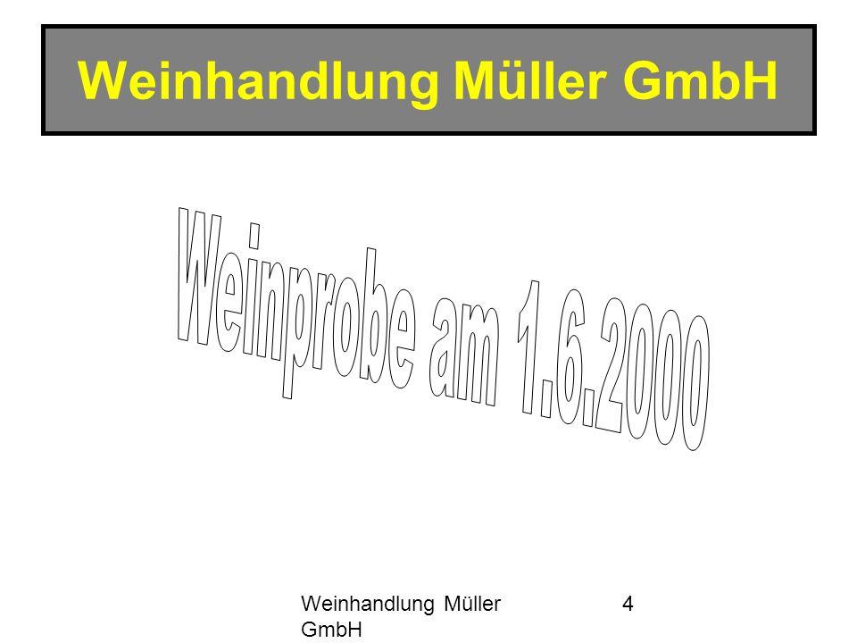 Weinhandlung Müller GmbH 4