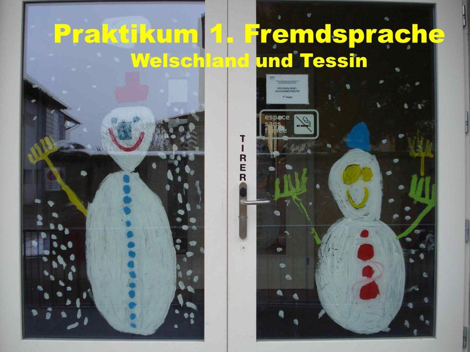 Praktikum 1. Fremdsprache Welschland und Tessin