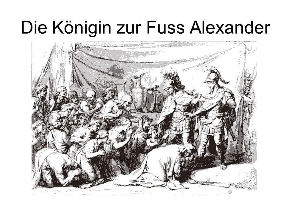 Die Königin zur Fuss Alexander