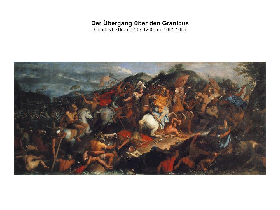 Der Übergang über den Granicus Charles Le Brun, 470 x 1209 cm, 1661-1665