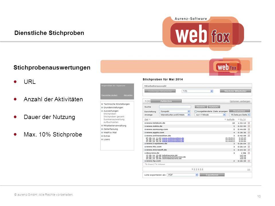 10 © aurenz GmbH | Alle Rechte vorbehalten.