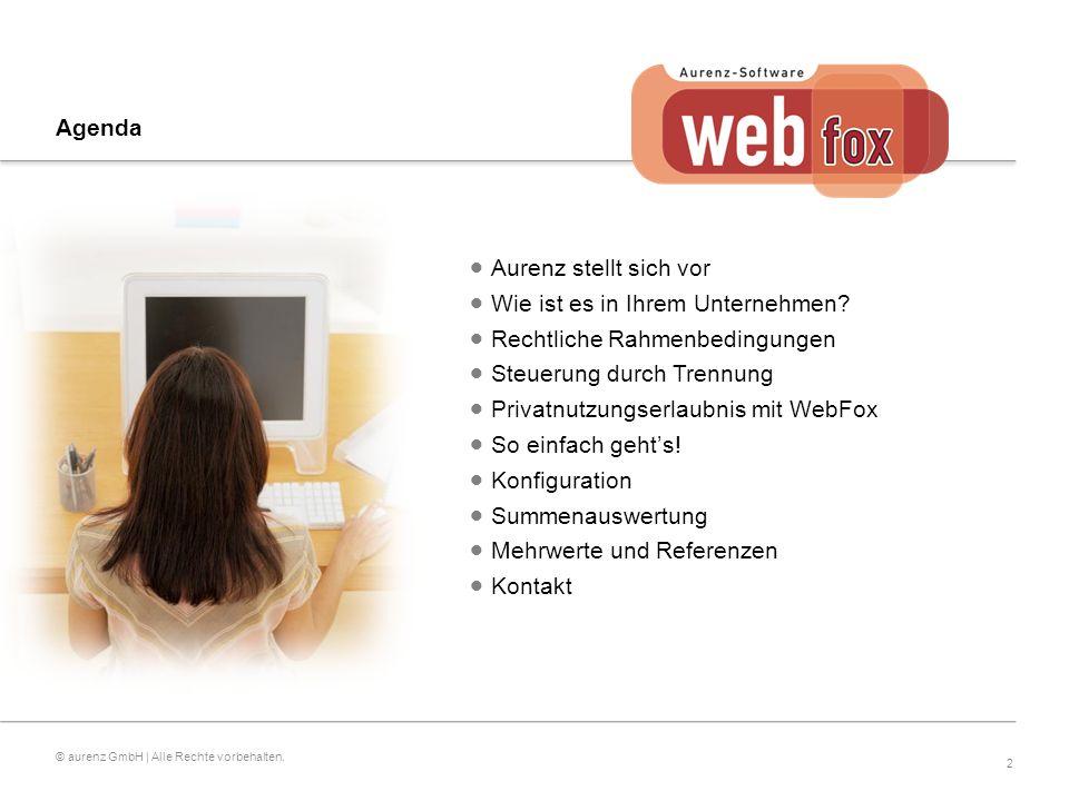 2 © aurenz GmbH | Alle Rechte vorbehalten.