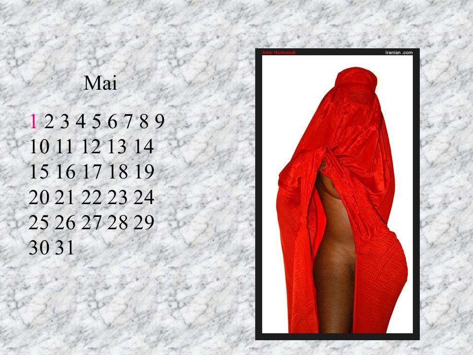 Mai 1 2 3 4 5 6 7 8 9 10 11 12 13 14 15 16 17 18 19 20 21 22 23 24 25 26 27 28 29 30 31