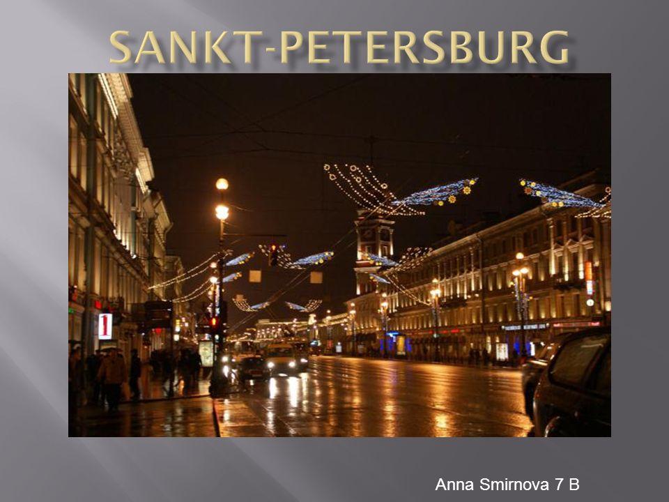 In Sankt Petersburg gibt es viele Kathedralen, Klöster und Kirchen.