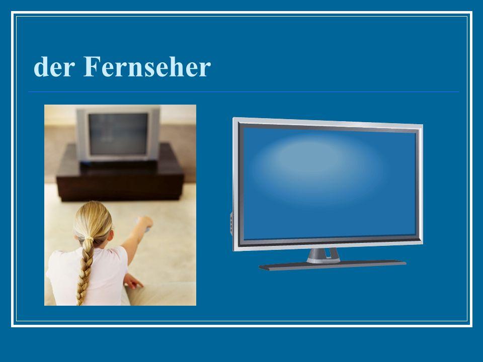 der Fernseher