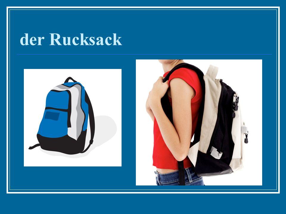 der Rucksack