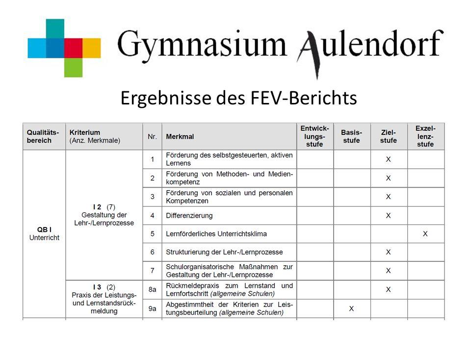 Ergebnisse des FEV-Berichts