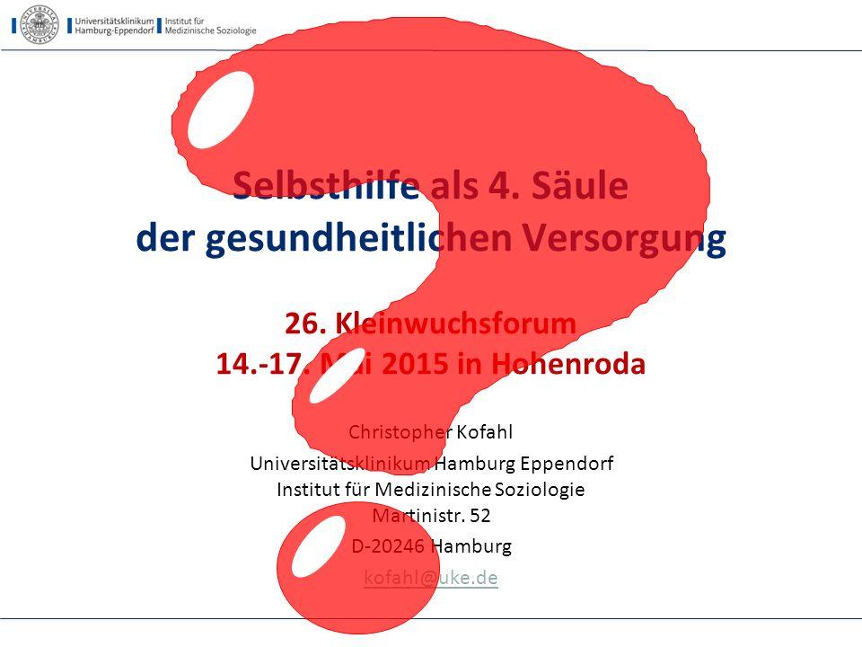 Selbsthilfe als 4. Säule - 14.5.2015 Hohenroda - Kofahl Fazit 52