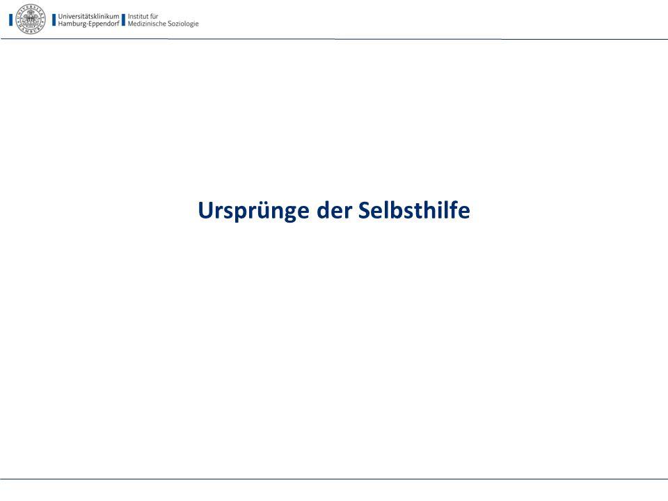Selbsthilfe als 4. Säule - 14.5.2015 Hohenroda - Kofahl Zeiten des Umbruchs! 5