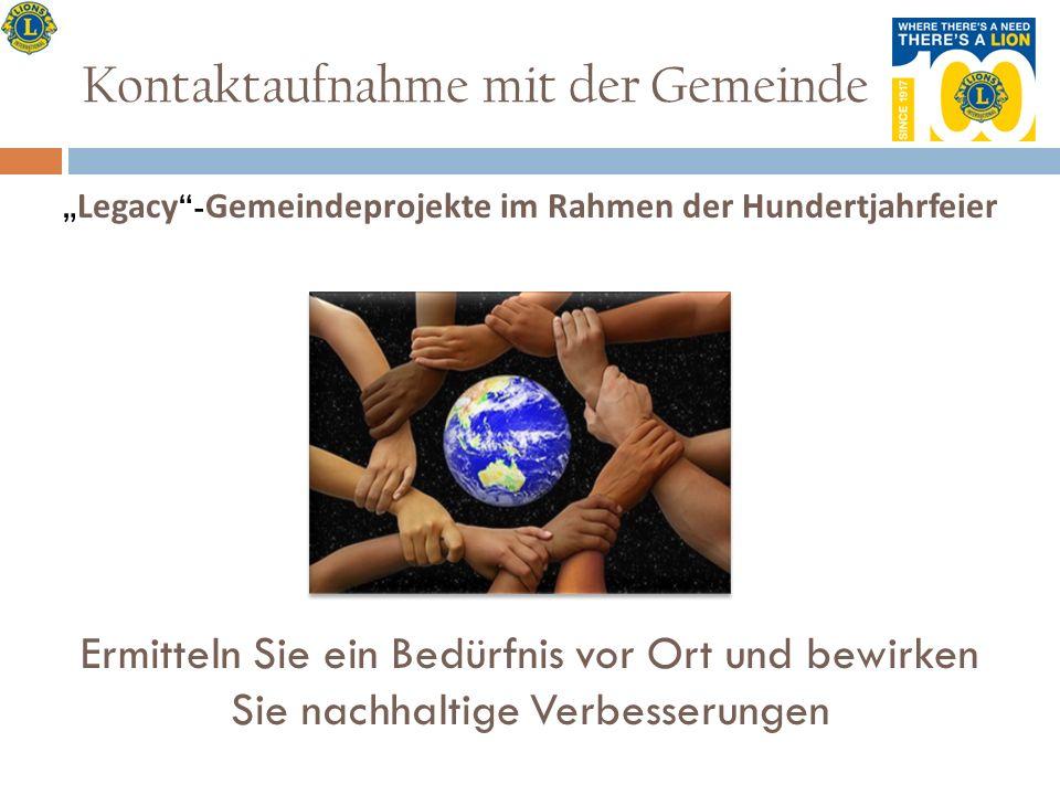 Die Struktur der ehrenamtlichen Helfer der Hundertjahrfeier PIP J.