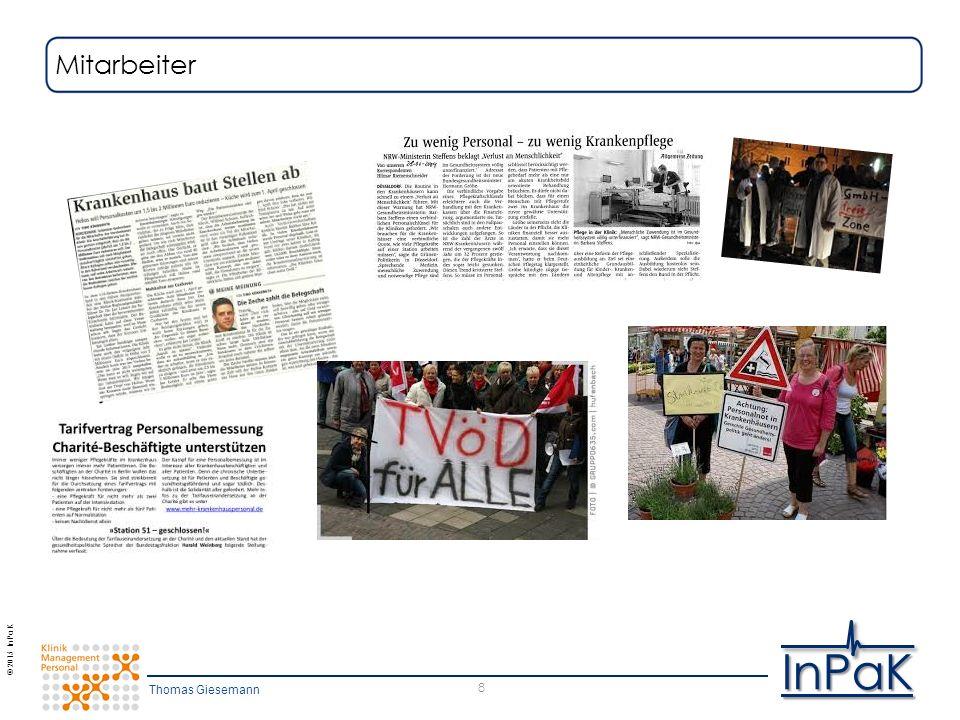 © 2015 InPaK InPaK 8 Mitarbeiter Thomas Giesemann