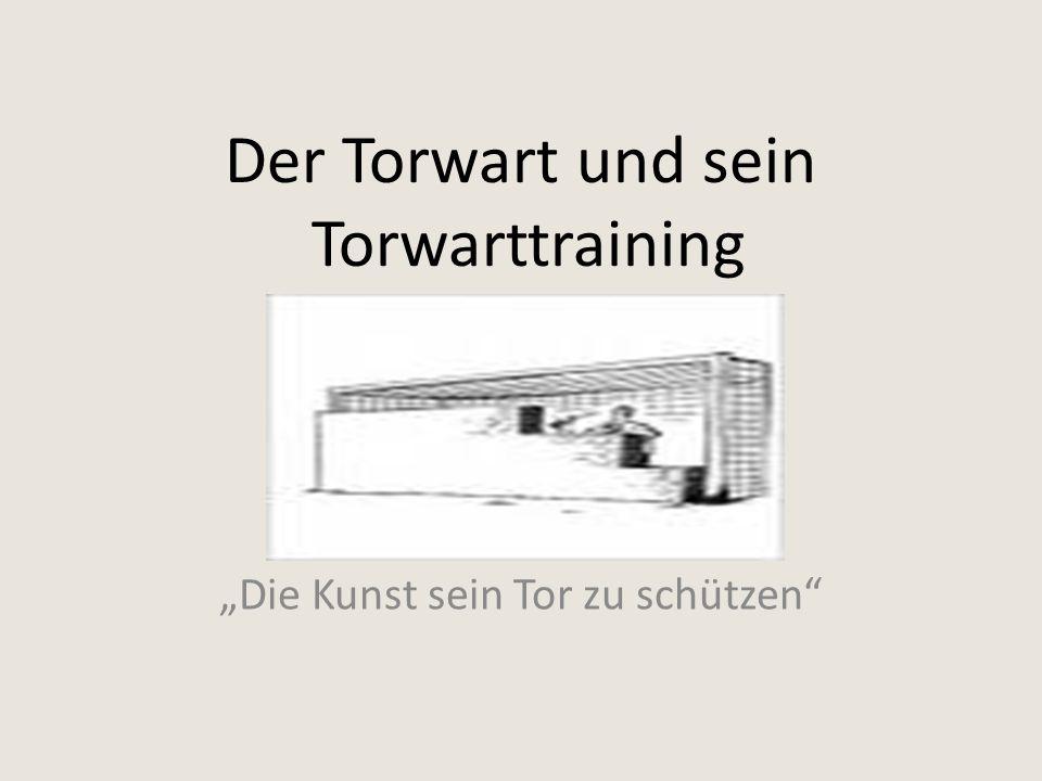 """Der Torwart und sein Torwarttraining """"Die Kunst sein Tor zu schützen"""""""