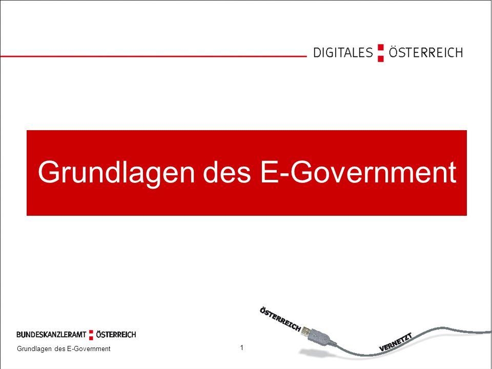 Grundlagen des E-Government 1225.09.2006 Nutzung des E-Government Angebots