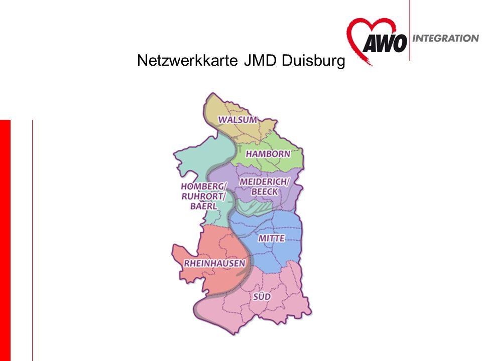 Netzwerkkarte JMD Duisburg