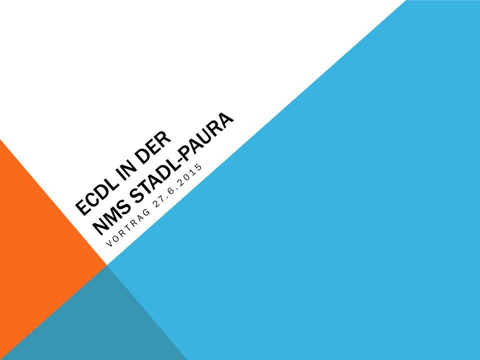 ECDL IN DER NMS STADL-PAURA VORTRAG 27.6.2015