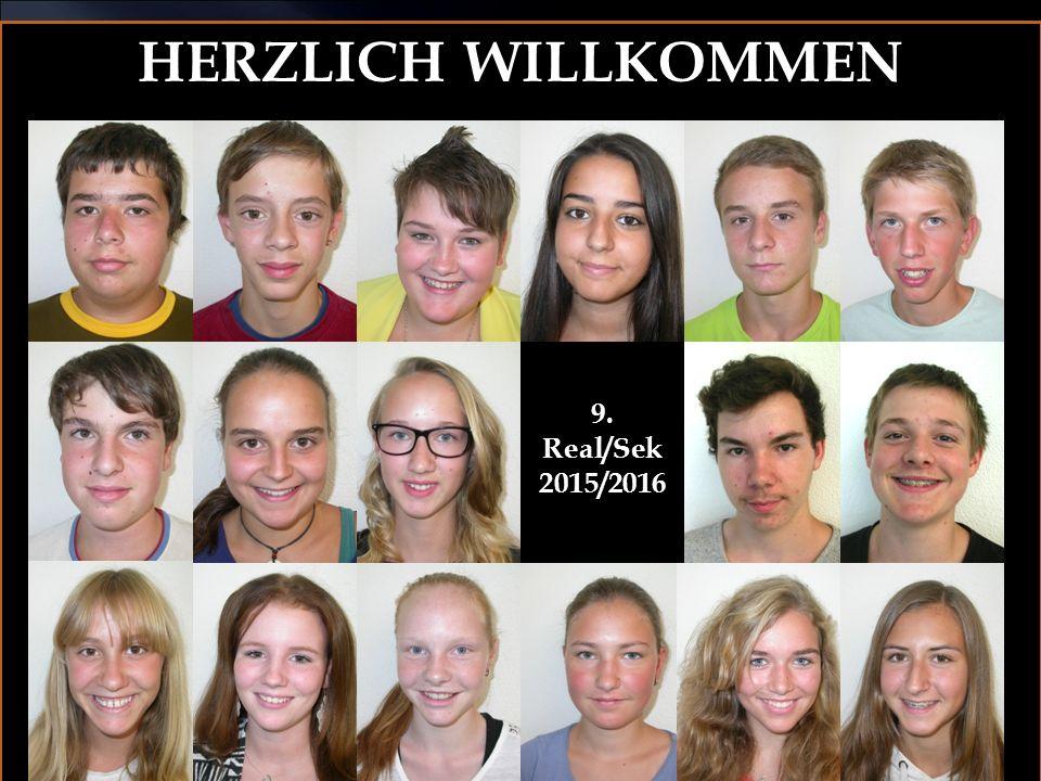 HERZLICH WILLKOMMEN 9. Real/Sek 2015/2016
