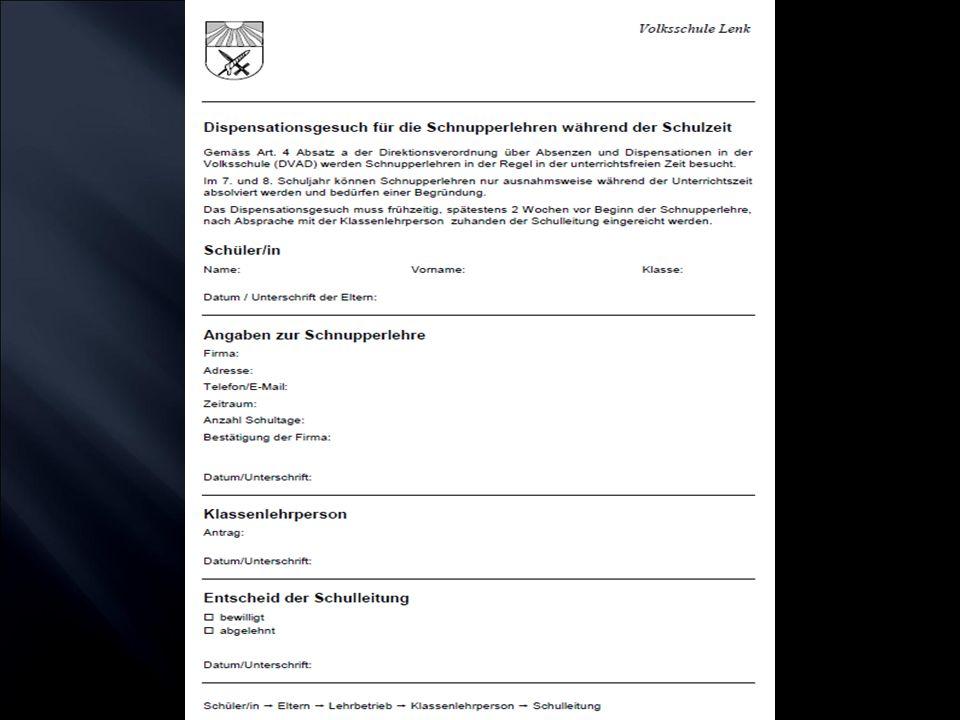 LaufendBerufswahl-Infoverantstaltungen 1. NovemberAnmeldung Gymnasialer Unterricht 1.