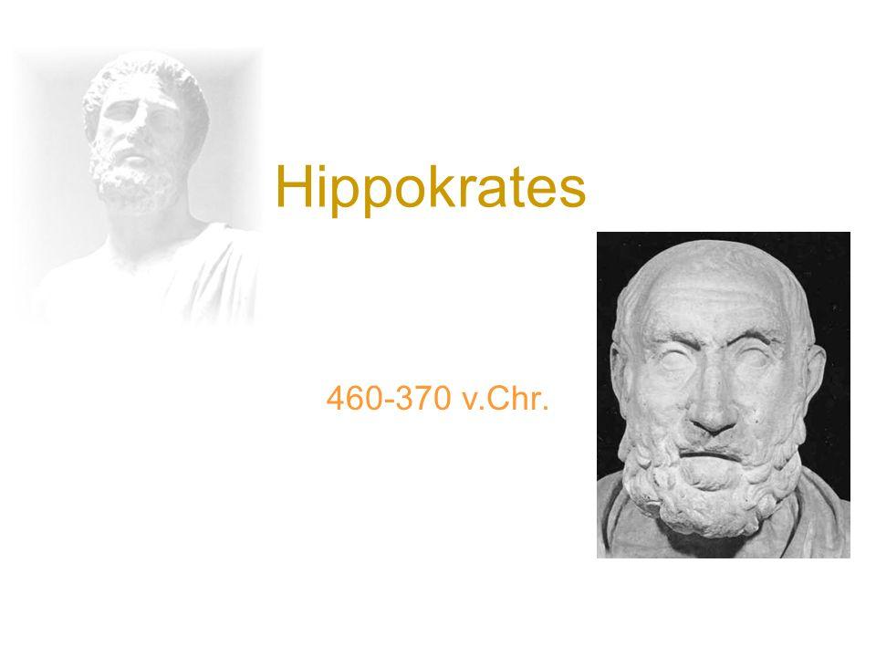Hippokrates 460-370 v.Chr.