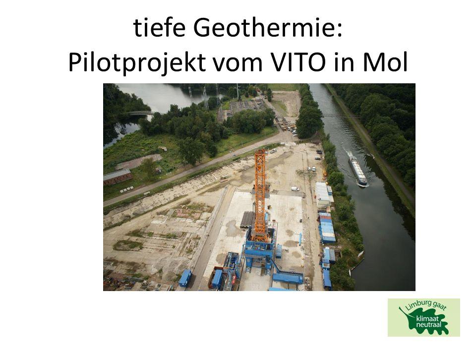 tiefe Geothermie: Pilotprojekt vom VITO in Mol