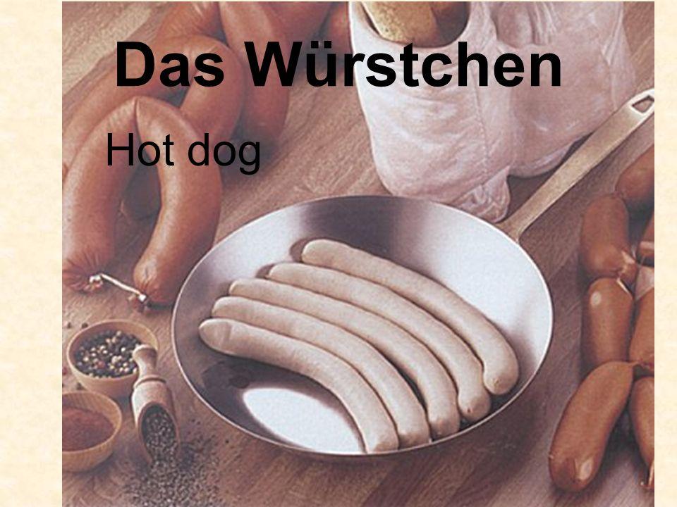 Das Würstchen Hot dog