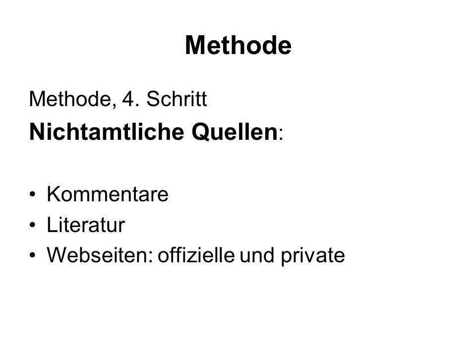 Methode Methode, 4.