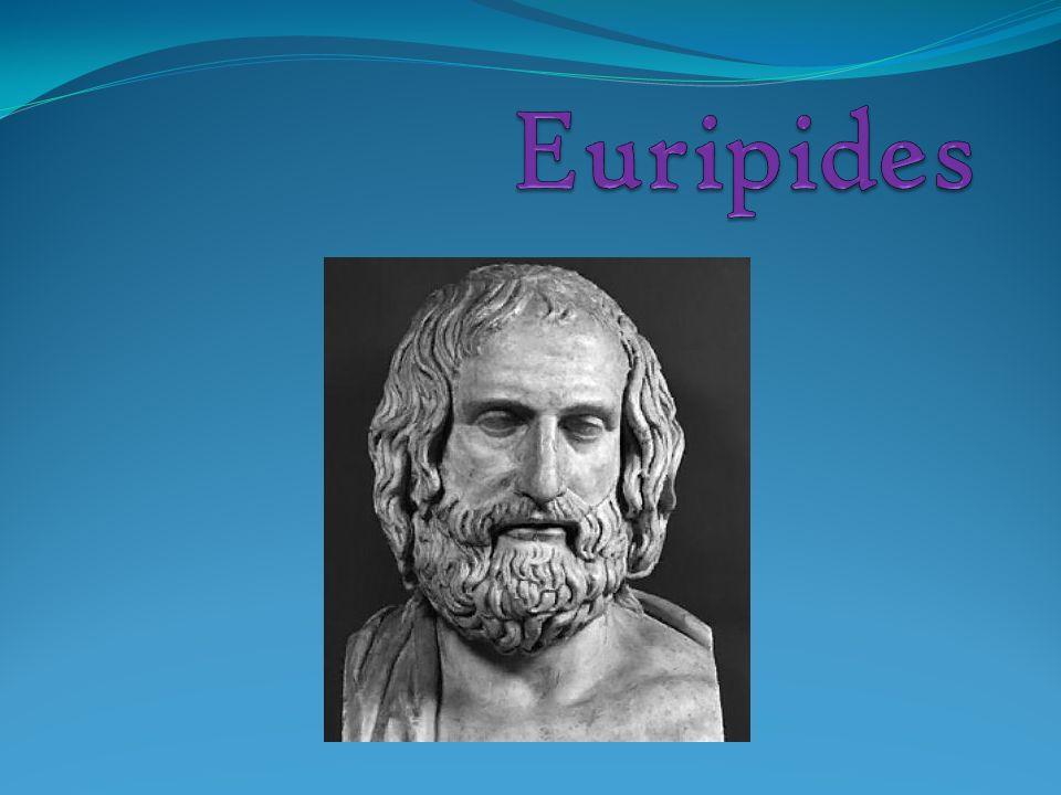 Allgemeines *480 oder 485 v. Chr. in Salamis † 406 v. Chr. in Pella Tragödiendichter