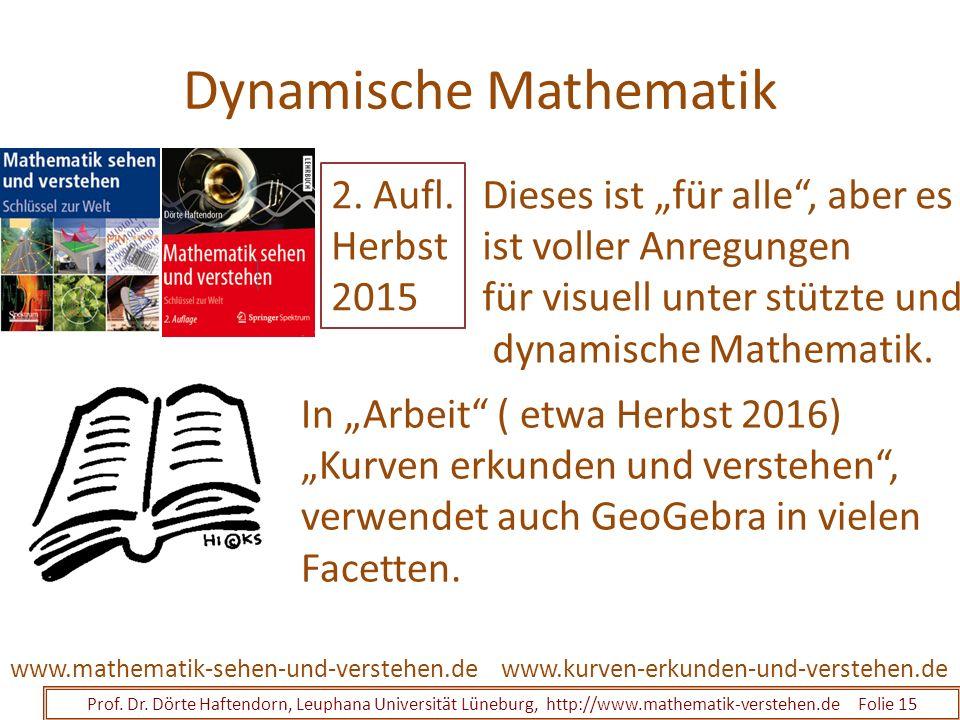 Dynamische Mathematik Prof. Dr.