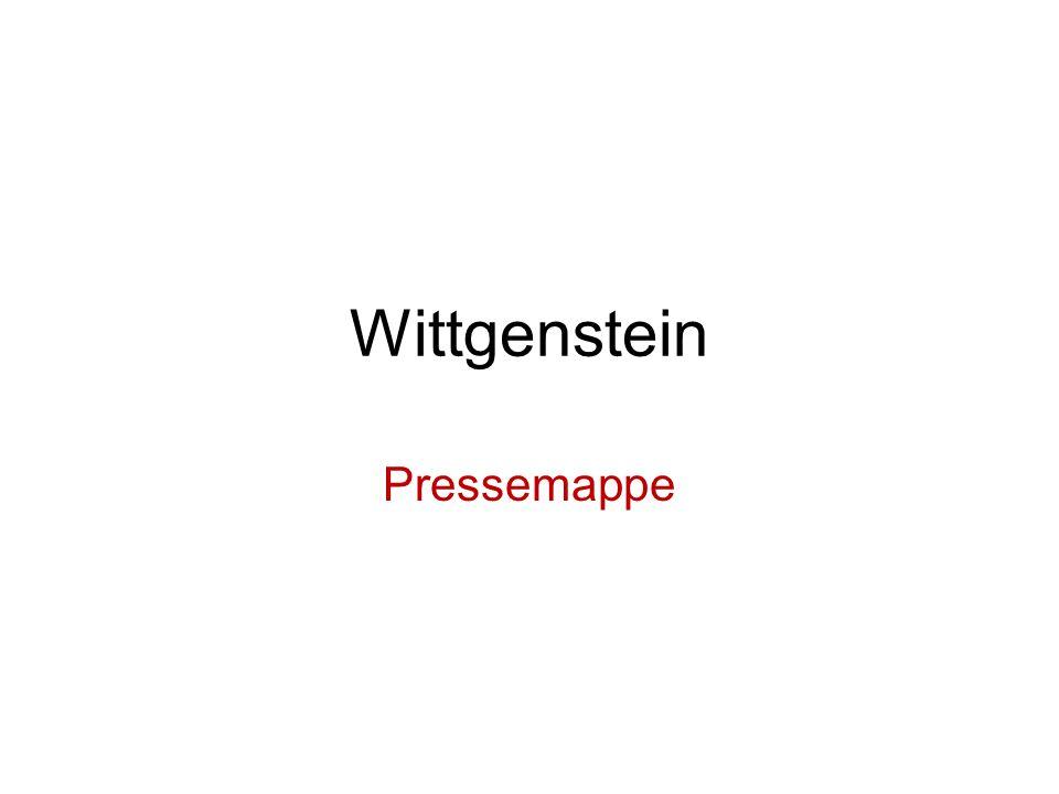 Wittgenstein Pressemappe