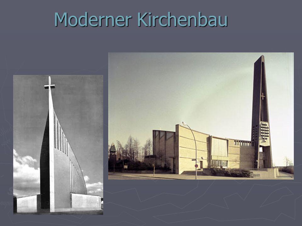 Moderner Kirchenbau