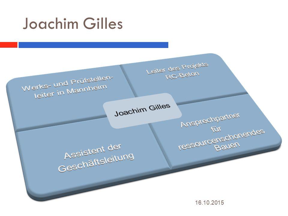 Joachim Gilles 16.10.2015 2