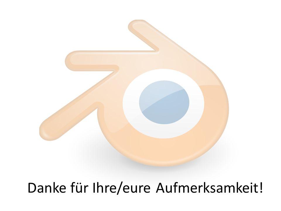 Bilderquelle: blender.org: Blender-Logo.