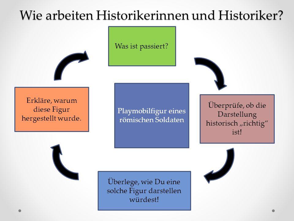 """Was ist passiert.Überprüfe, ob die Darstellung historisch """"richtig ist."""