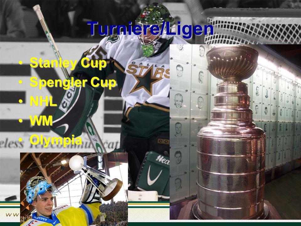 Turniere/Ligen Stanley CupStanley Cup Spengler CupSpengler Cup NHLNHL WMWM OlympiaOlympia