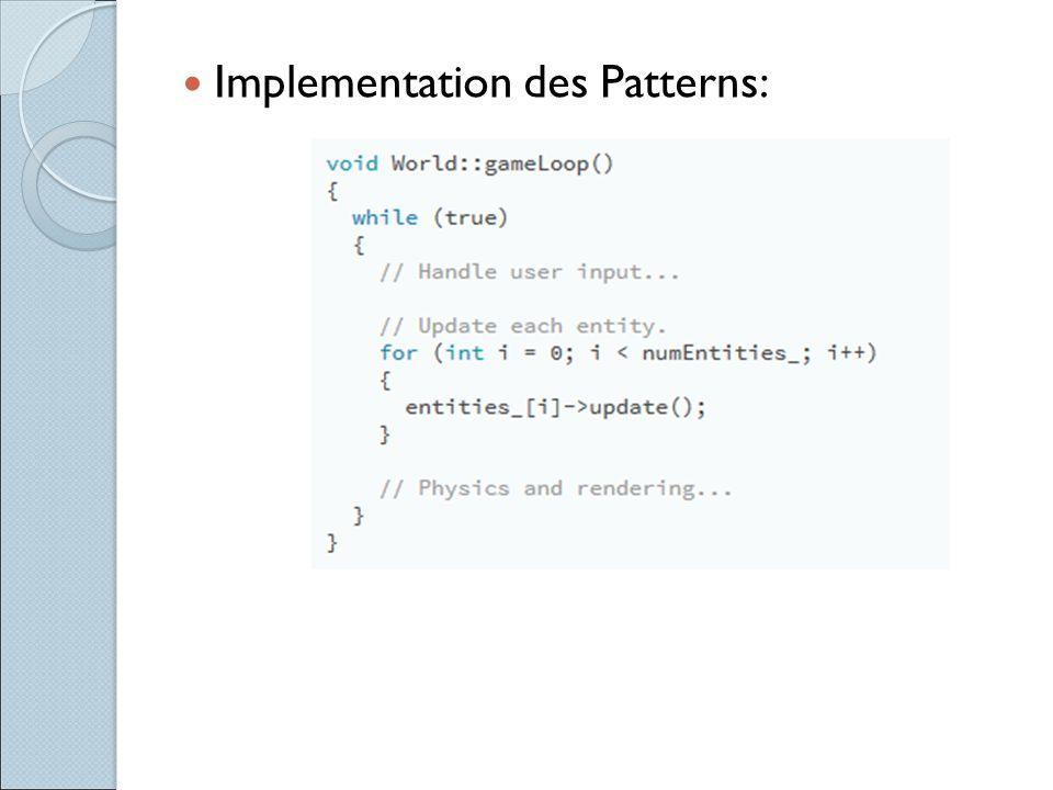 Implementation des Patterns: