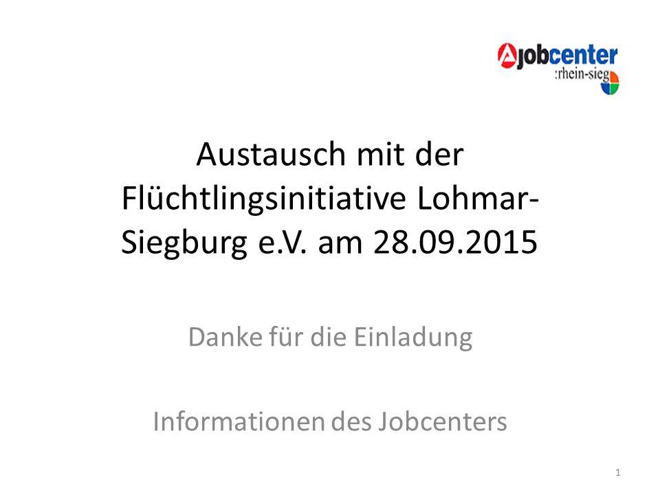Austausch mit der Flüchtlingsinitiative Lohmar- Siegburg e.V.