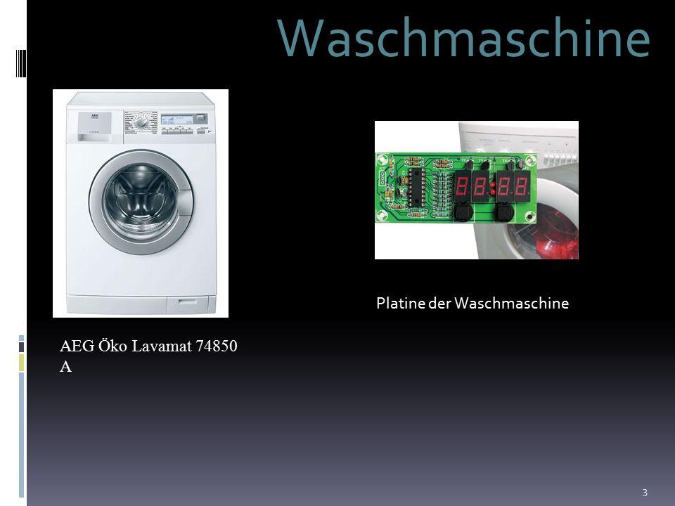 3 Waschmaschine AEG Öko Lavamat 74850 A Platine der Waschmaschine