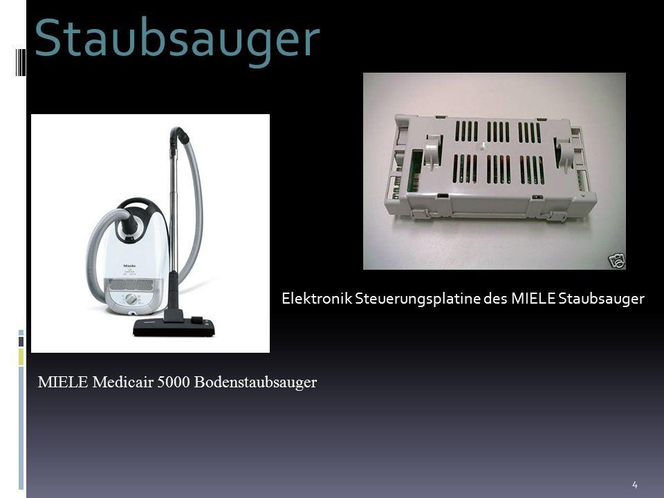 4 Staubsauger Elektronik Steuerungsplatine des MIELE Staubsauger MIELE Medicair 5000 Bodenstaubsauger