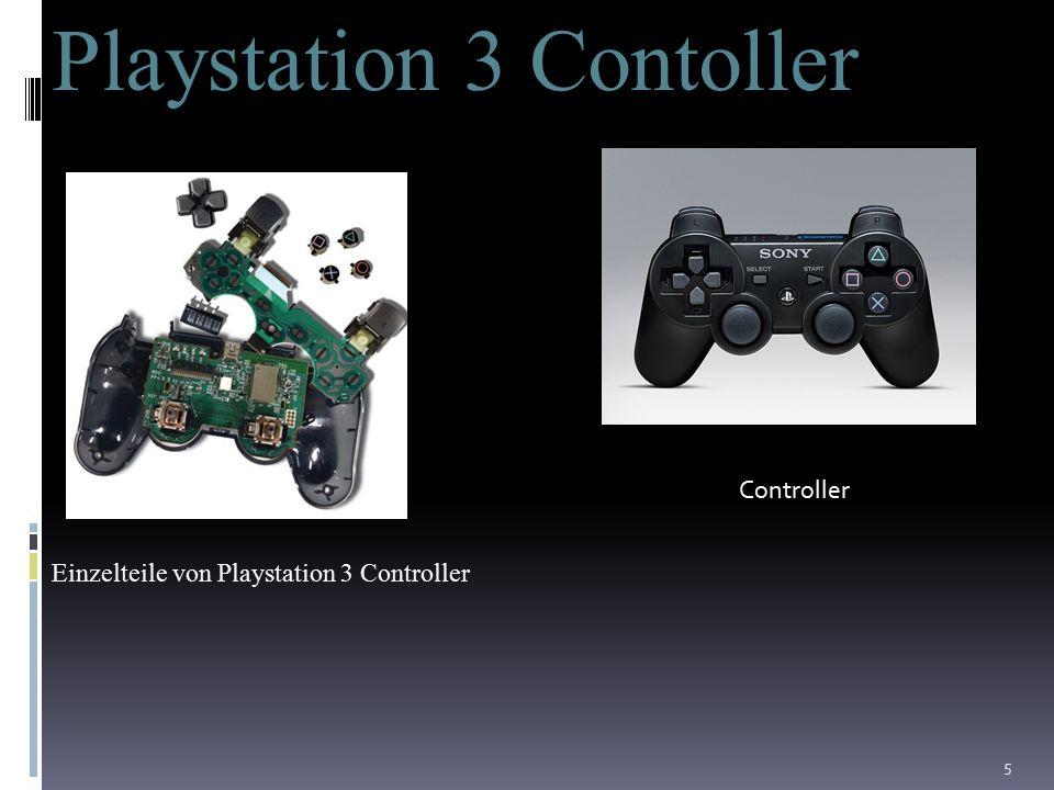 5 Playstation 3 Contoller Einzelteile von Playstation 3 Controller Controller