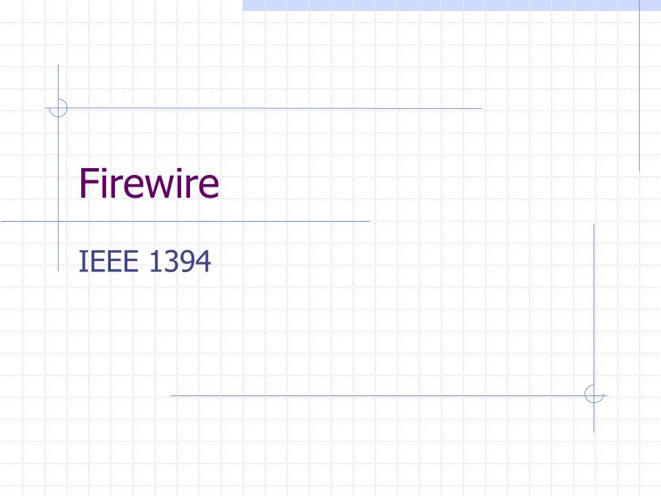 Firewire IEEE 1394